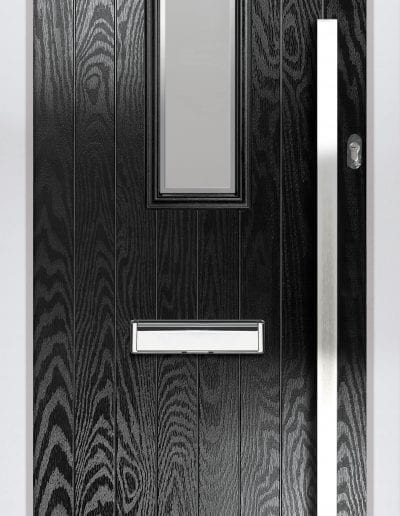 Cottage Centre Shown With Glacier Glass & 1500mm Rectangular Stainless Steel Handle