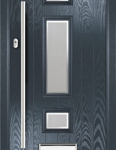 Jacobean Shown With Glacier Glass & 1200mm Round Stainless Steel Handle