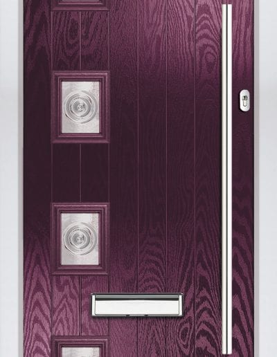 Modern 4 Left Shown With Bullion Glass & 1200 mm Round Handle
