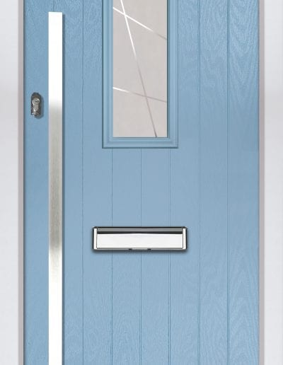 Cottage 1 Shown With 1500mm Square Handle Matrix Glass