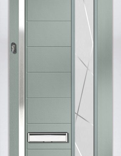 Verona Agate Grey Shown With Matrix Glass 1500mm Rectangular Handle